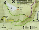Whispering Cave Map
